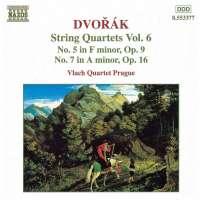 DVORAK: String Quartets vol. 6