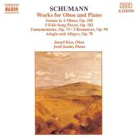SCHUMANN: Works for Oboe