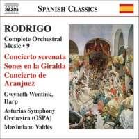 RODRIGO: Concierto serenata; Concierto de Aranjuez (Complete Orchestral Works, Vol. 9)
