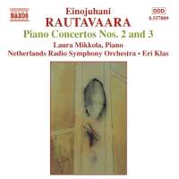 RAUTAVAARA: Piano Concertos Nos. 2 and 3; Isle of Bliss