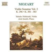 MOZART: Violin Sonatas K31-303, K296