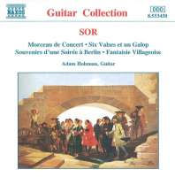 SOR: Morceau de Concert, 6 Valses, Op. 57, Fantaisie Villageoise, Op. 52