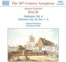 BACH J.C.: Sinfonias op.18