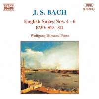 BACH: English Suites 4 - 6