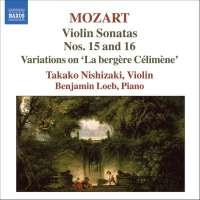 MOZART: Violin Sonatas Nos. 15 & 16, vol
