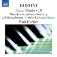 Busoni: Piano Music Vol. 10