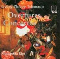 Telemann: Concertos & chamber music vol. 2