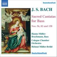 BACH: Sacred cantatas for bass