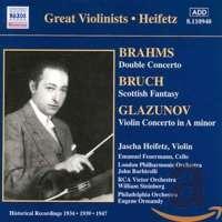 Brahms: Double Concerto / Bruch: Scottish Fantasy / Glazunov: Violin Concerto in A minor