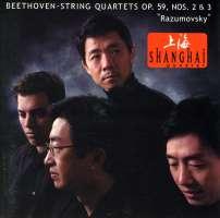 Beethoven: String Quartets Op 59, Nos 2 & 3