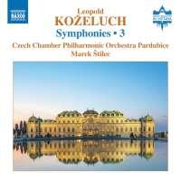 Koželuch: Symphonies Vol. 3