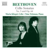 BEETHOVEN: Music for Cello Nos. 3 Op 64