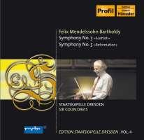 Mendelsohn: Symphonies 3 & 5