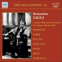 GIGLI - LONDON RECORDINGS