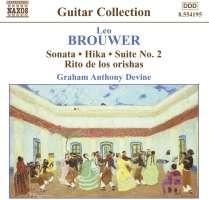 BROUWER: Guitar Music vol. 3