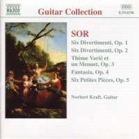 SOR: 6 Divertimenti, Opp. 1 and 2; 6 Petite Pieces, Op. 5