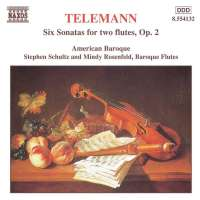 TELEMANN: Six Sonatas for Two