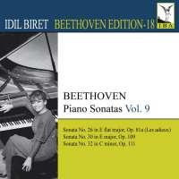 BEETHOVEN: Piano Sonatas- Nos. 26, 30, 32 , Vol. 9 (Biret Beethoven Edition, Vol. 18)
