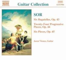 SOR: Guitar Music op.43, 44