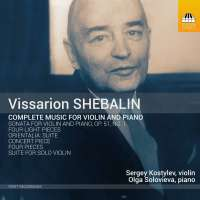 Shebalin: Music for Violin and Piano