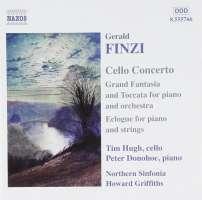 FINZI: Cello Concerto; Grand Fantasia and Toccata; Eclogue