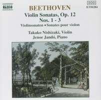 Beethoven: Violin Sonatas nos. 1 - 3