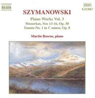 SZYMANOWSKI: Piano Works vol. 3
