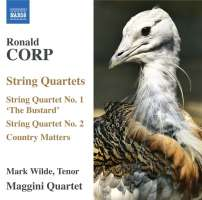 CORP: String Quartets Nos. 1 and 2; Country Matters