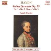 Haydn: String Quartets Op. 55, Nos. 1 - 3