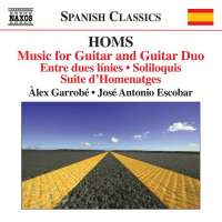Homs: Music for Guitar and Guitar Duo