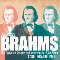 Brahms: Complete Sonatas and Variations for Solo Piano