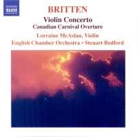 BRITTEN: Violin concerto
