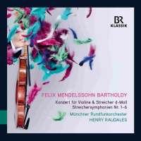 Mendelssohn: Concerto for violin & string orchestra; String symphonies