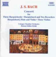 BACH: Multiple Concerti