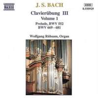 BACH: Clavierubung III vol. 1