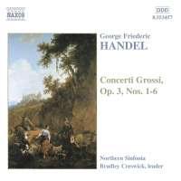 HANDEL: Concerti Grossi op. 3 no. 1 - 6