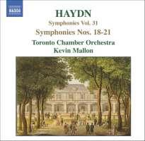 HAYDN: Symphonies Vol. 31, Nos. 18 - 21