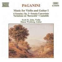 PAGANINI: Violin & Guitar 1