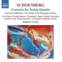 SCHOENBERG: Concerto for String Quartet