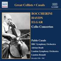 BOCCHERINI / HAYDN / ELGAR: Cello Concertos