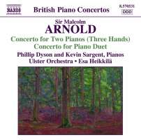 ARNOLD: Concerto for 2 pianos 3 hands