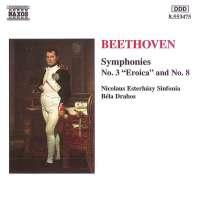BEETHOVEN: Symphonies Nos.3 & 8