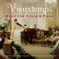 Vieuxtemps: Music for Violin and Piano