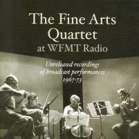 Fine Arts Quartet at WFMT Radio