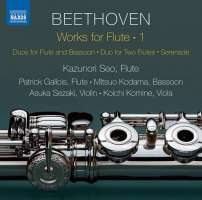 Beethoven: Works for Flute Vol. 1