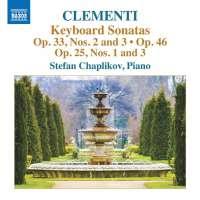 Clementi: Keyboard Sonatas Op. 33; 46; 25,