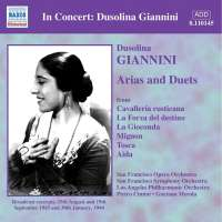 Dusolina Giannini - Arias and duet