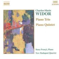 WIDOR: Piano Trio and Quintet
