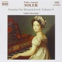 SOLER: Sonatas for Harpsichord, Vol. 8