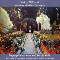 Liszt to Milhaud - A Journey with Piano Four Hands